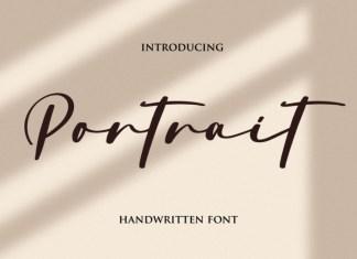 Portrait Script Font