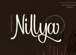 Nillya Handwriting Font