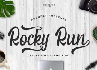 Rocky Run Script Font