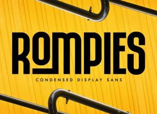 Rompies Display Font