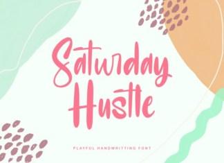 Saturday Hustle Script Font