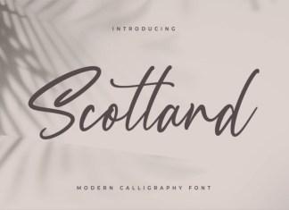 Scotland Handwritten Font