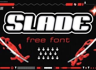Slade Display Font