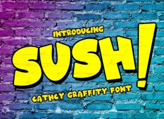 SUSH! Display Font
