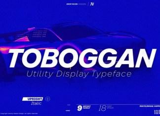 Toboggan Sans Serif Font