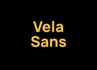 Vela Sans Serif Font