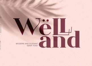 Welland Serif Font