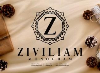 Ziviliam Monogram Display Font