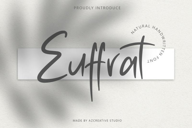 Euffrat Script Font