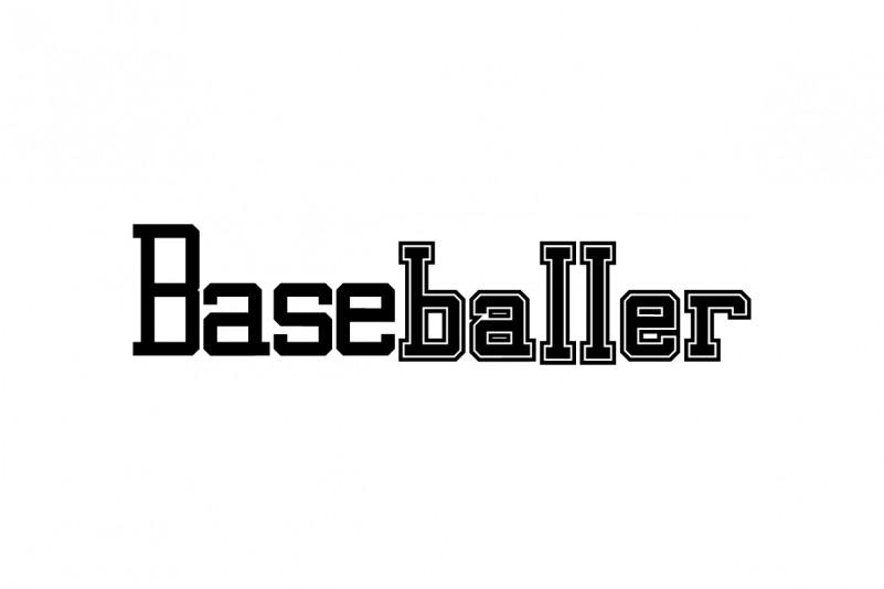 Baseballer Slab Serif Font