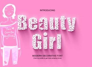 Beauty Girl Display Font