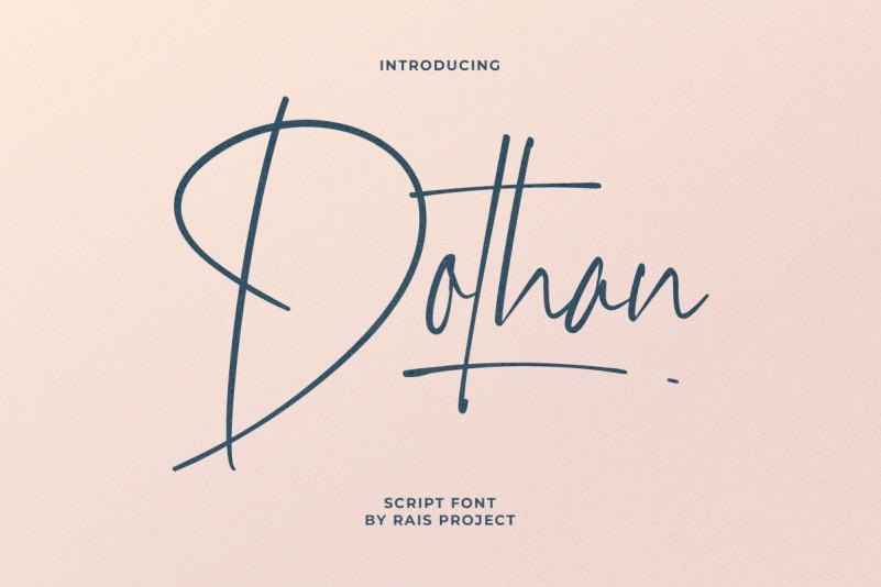 Dothan Handwritten Font
