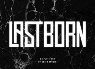 Lastborn Sans Serif Font