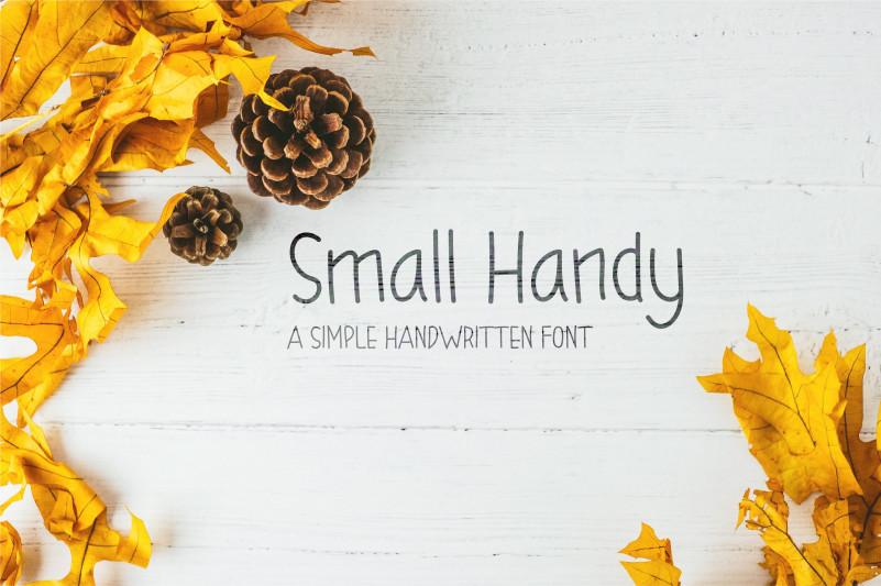 Small Handy Handwritten font