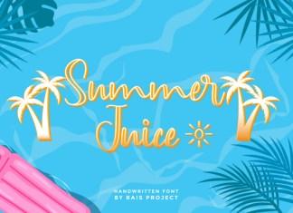 Summer Juice Script Font