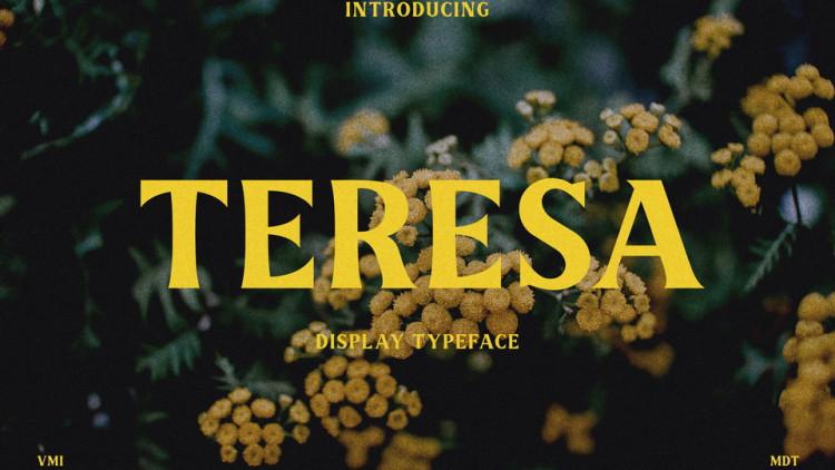 Teresa Display Font