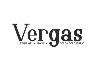 Vergas Serif Font