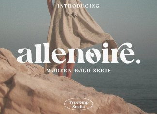 Allenoire Serif Font