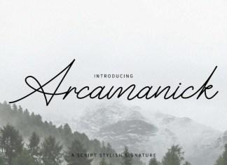 Arcamanick Handwritten Font