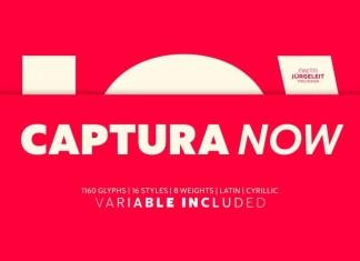 Captura Now Sans Serif Font