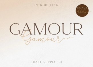 Gamour Serif Font