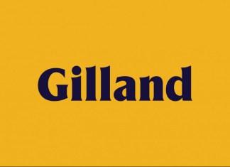 Gilland Serif Font