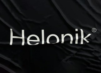 Helonik Sans Serif Font