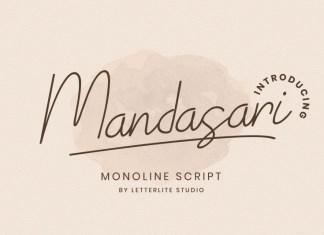 Mandasari Handwritten Font