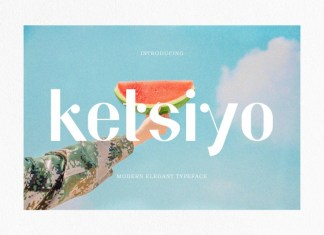 Ketsiyo Sans Serif Font