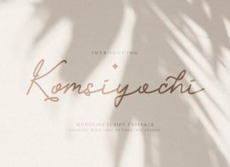 Komsiyochi Handwritten Font