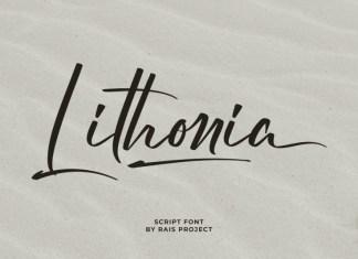 Lithonia Script Font