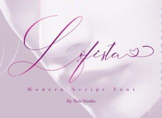 Lofista Calligraphy Font