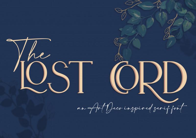 The Lost Cord Serif Font