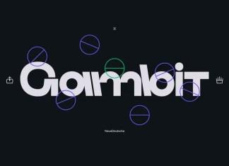 Gambit Sans Serif Font