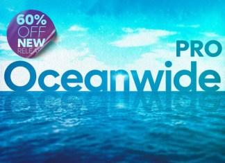 Oceanwide Pro Sans Serif Font