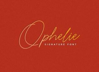 Ophelie Handwritten Font