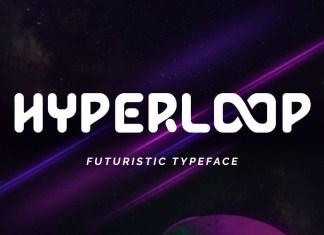 Hyperloop Display Font
