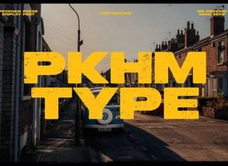 Peckham Press Display Font