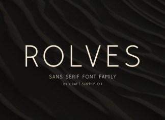 Rolves Sans Serif Font
