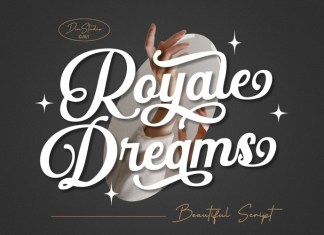 Royale Dreams Calligraphy Font