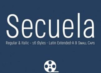 Secuela Sans Serif Font