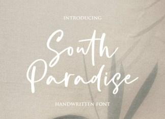 South Paradise Handwritten Font