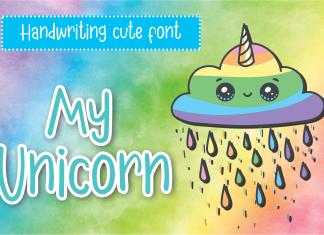 My Unicorn Display Font
