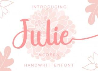 Julie Script Font