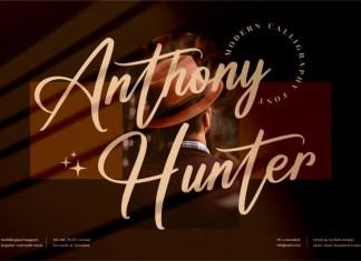 Anthony Hunter Script Font