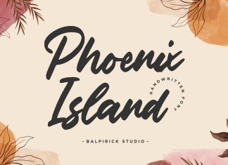 Phoenix Island Font