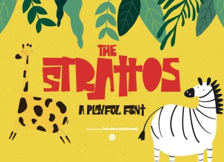 The Strattos Display Font
