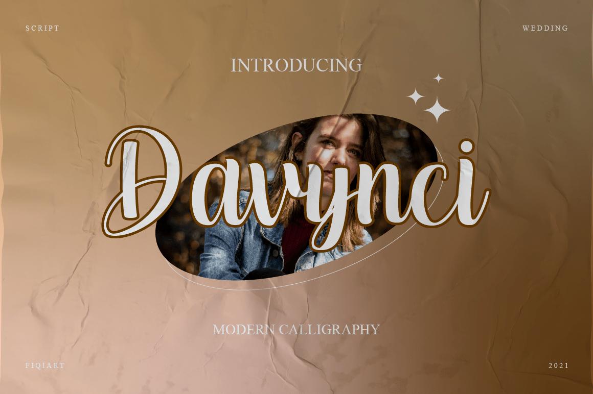 Davynci Script Font