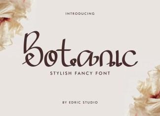 Botanic Font