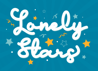 Lonely Star Script Font